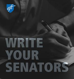 Write your senators