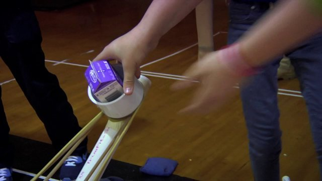Career and Technical Education (CTE) Student Series: Lunch Catapult
