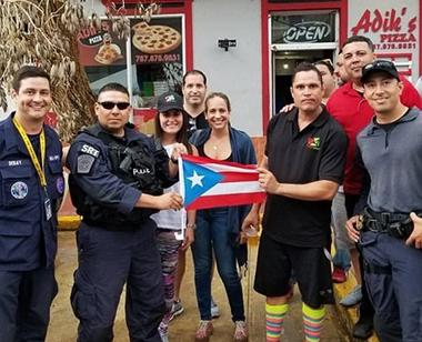 Unions helping Puerto Rico