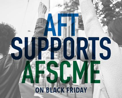 AFT supports AFSCME