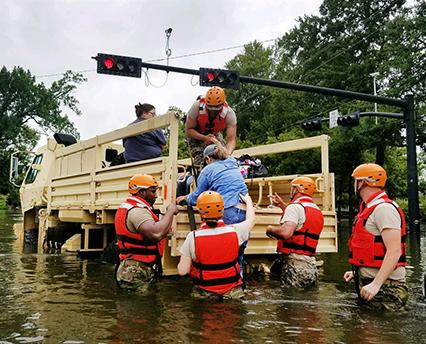 Hurricane Harvey rescue
