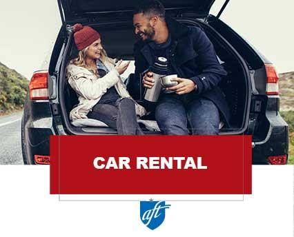 car rental ad