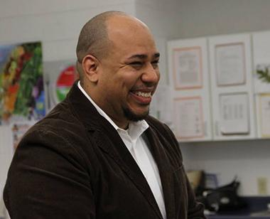 Baltimore Teachers Union member Harry Preston knows that when students of color have teachers who look like them and share similar life experiences, they are more successful at school.