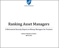 Ranking Asset Managers