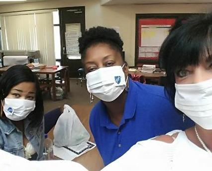 slide picture for aft members wearing masks