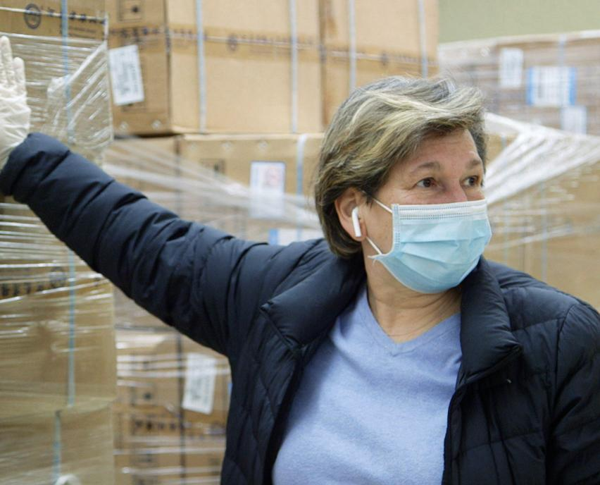 Randi Weingarten and PPE delivery