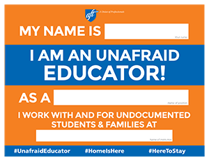 Unafraid Educators