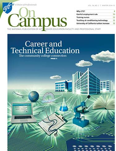 AFT On Campus, Winter 2014/15 Cover Image