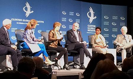 Clinton Global Institute panel