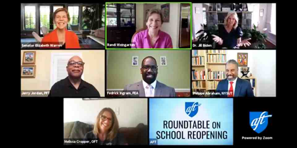 School reopening roundtable