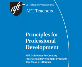 Principles for Professional Development