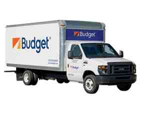 budget moving truck