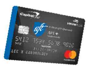 AFT plus credit card