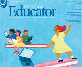 American Educator Winter 2020 cover
