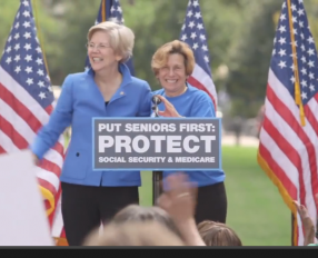 Randi Weingarten and Sen Elizabeth Warren