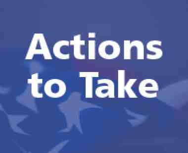 Actions to take