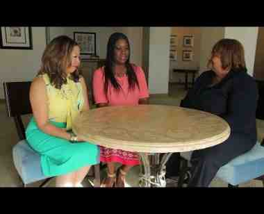 Discussion with Sybrina Fulton and Lucia McBath, whose sons were killed by gun violence