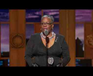 Acceptance Speech: Marilyn McCormick (2016) Excellence in Theatre Education Award