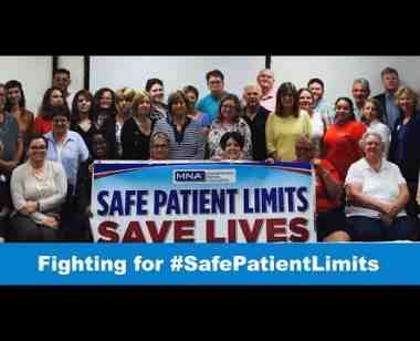 Nurses Unite for Safe Patient Care in 2018
