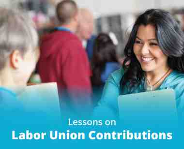 lessons on labor union contributions