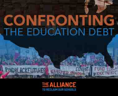 New report by the Alliance to Reclaim our Schools on confronting under-funding of public schools.