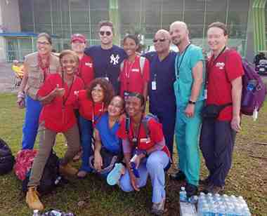 Nurses provide disaster relief in Puerto Rico