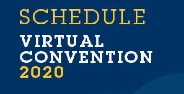 virtual convention schedule
